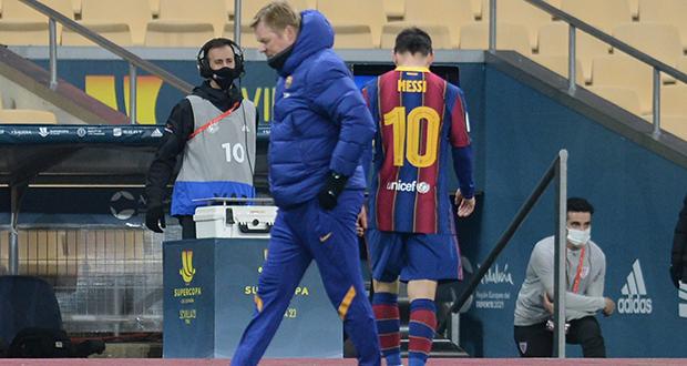 Football : Premier carton rouge pour Lionel Messi avec le FC Barcelone