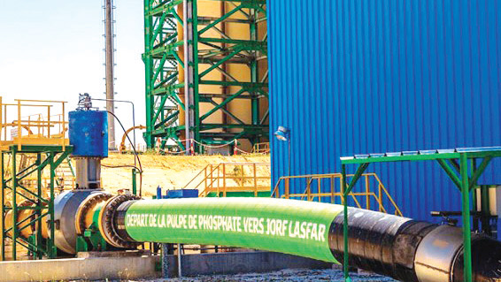 Khouribga / OCP : Le Slurry pipeline, un projet phare