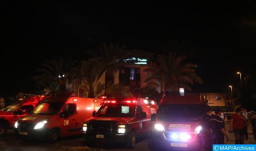 Accident de la route : 17 élèves légèrement blessés à Settat