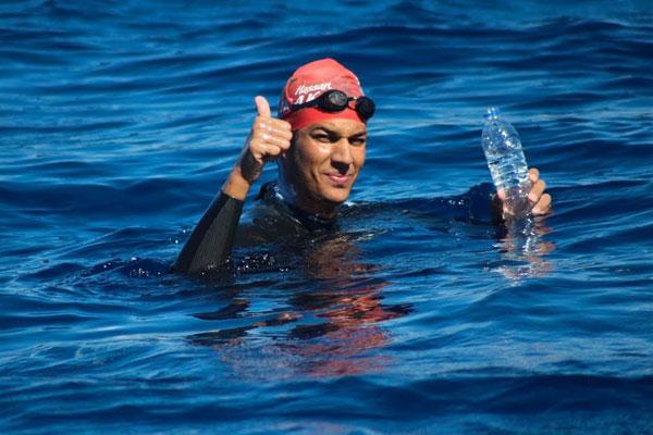 Hassan Baraka, le premier marocain à nager 1.600 mètres dans une eau à moins de 5 degrés