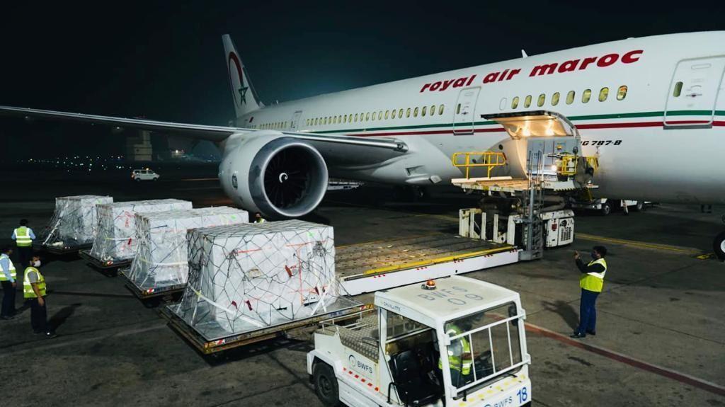 Le vaccin à quelques heures de l'aéroport Mohammed V