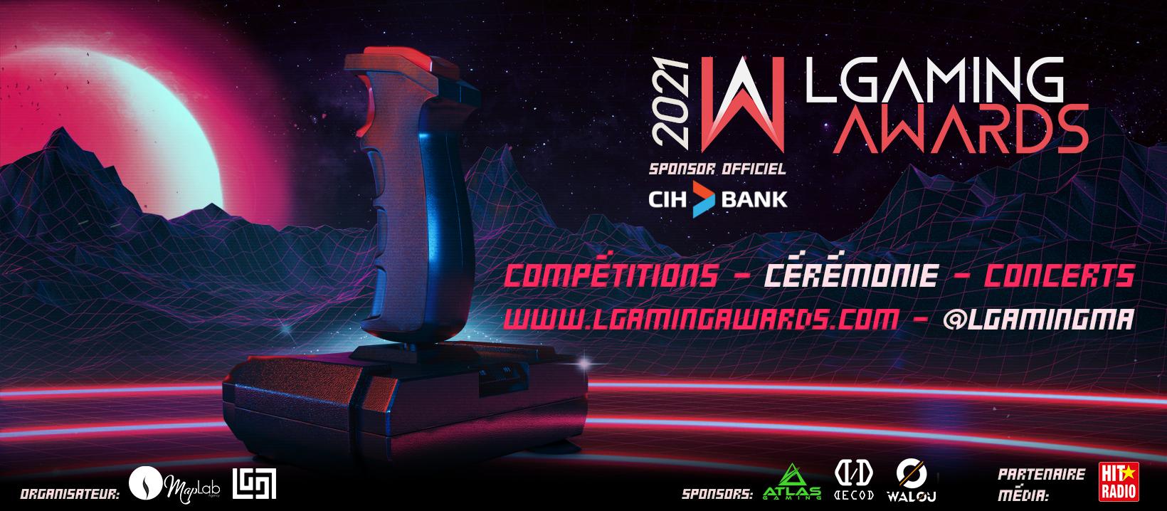 LGAMING Awards : Une première pour les fans de jeux vidéo au Maroc