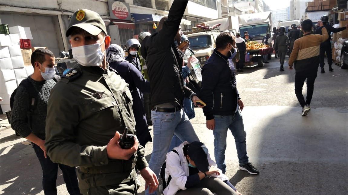 Casablanca : la manifestation des enseignants contractuels interdite