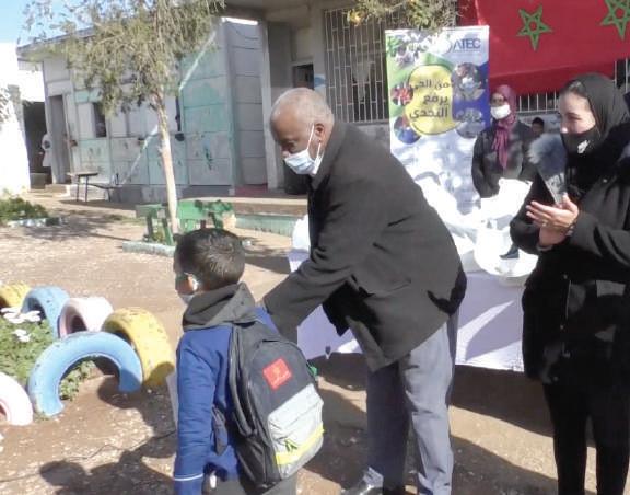 Casablanca : L'ATEC organise une campagne contre le froid