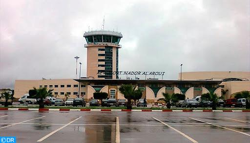 Aéroport de Nador: Baisse de 64,28 pc du trafic passagers en 2020