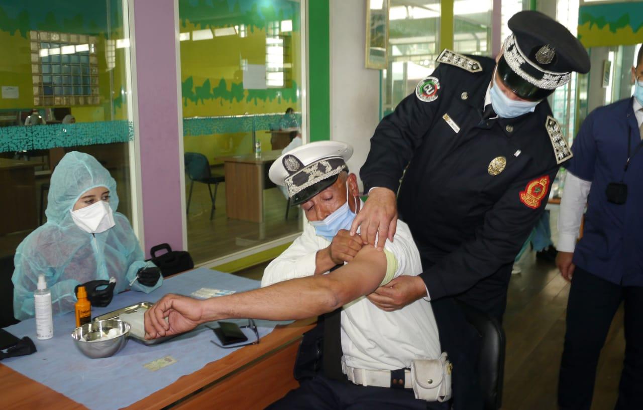 La campagne de vaccination anti-Covid en images