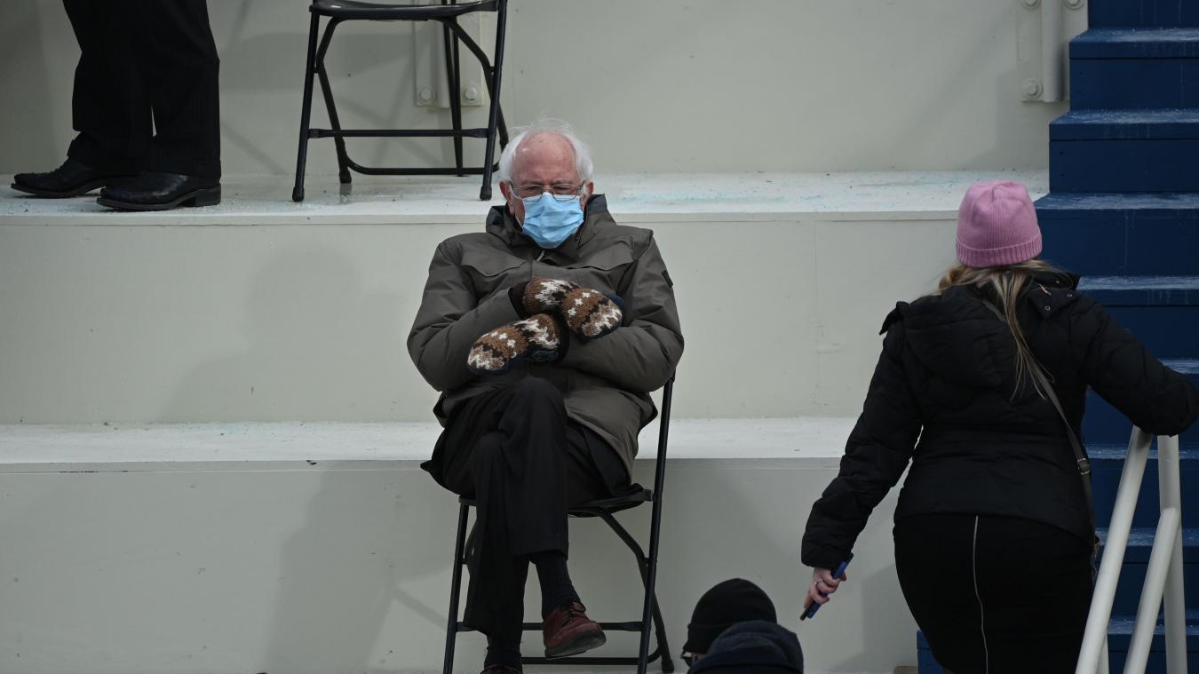 Une photo de Bernie Sanders lui permet de lever 1,8 millions de dollars