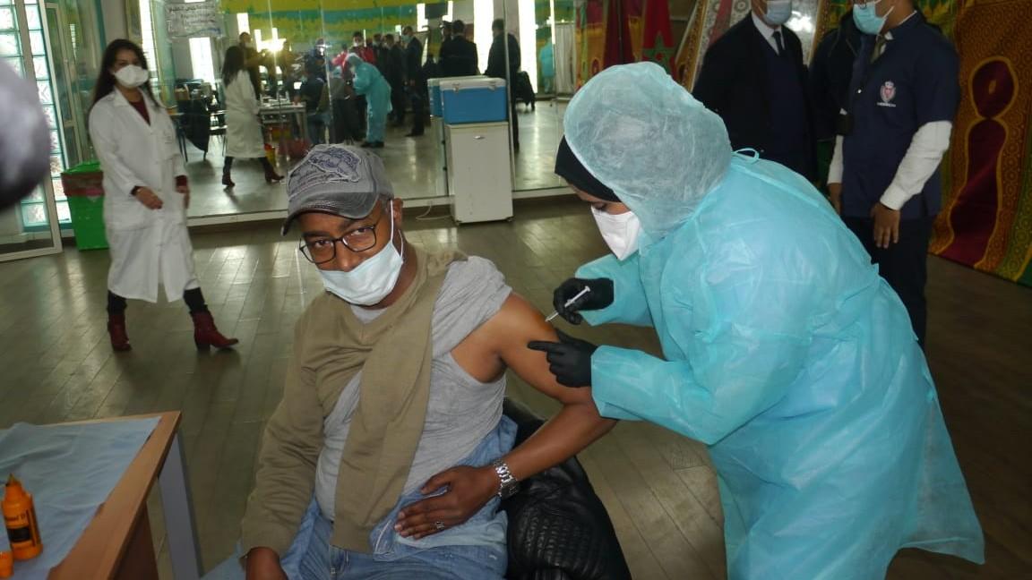 Plus de 126.000 personnes ont été vaccinées au Maroc