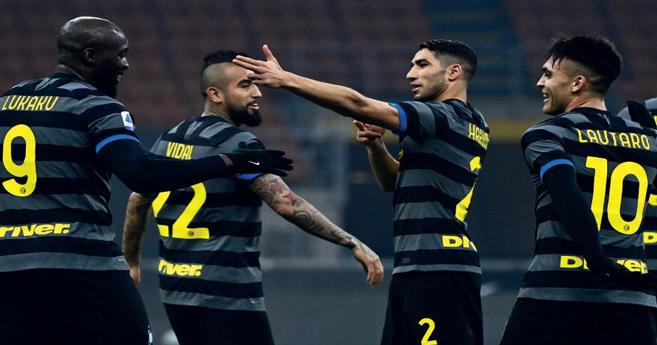 Serie A : Milan, l'Inter et la Juve font le plein