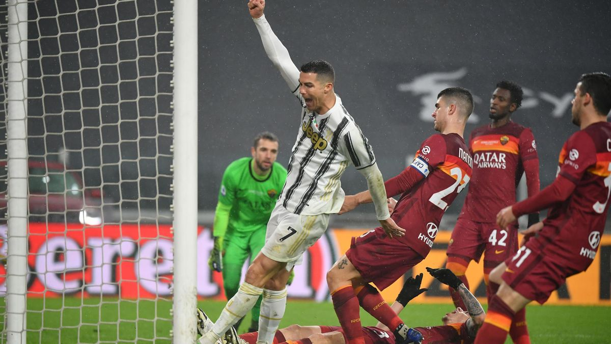 Championnat d'Italie : Ronaldo offre le podium à la Juventus