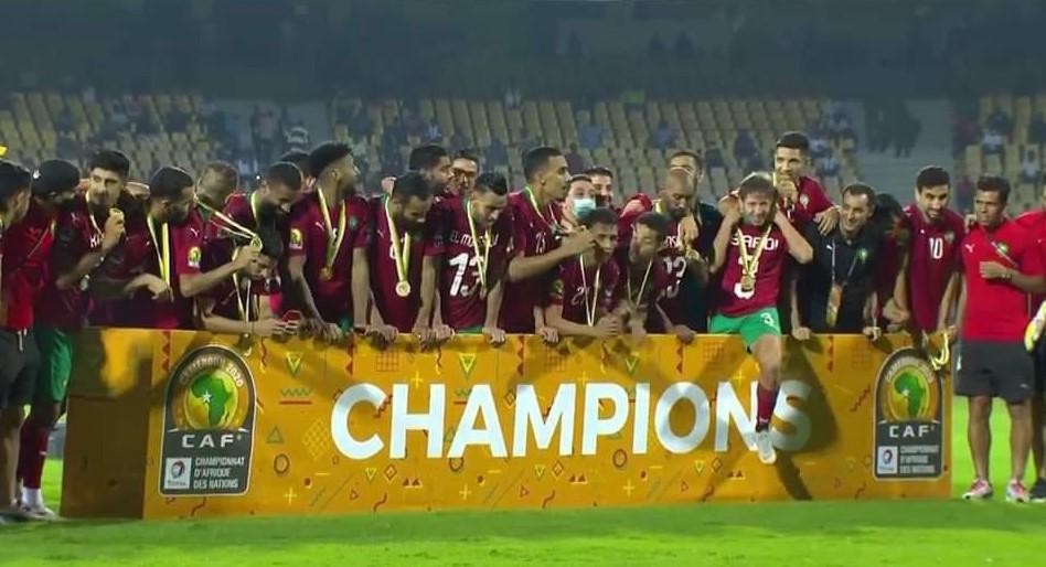 CHAN 2020 : Le Maroc Champion d'Afrique après avoir battu le Mali (2-0)