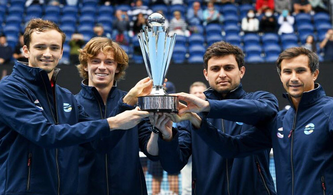 Tennis : À l'ATP Cup, la Russie succède à la Serbie