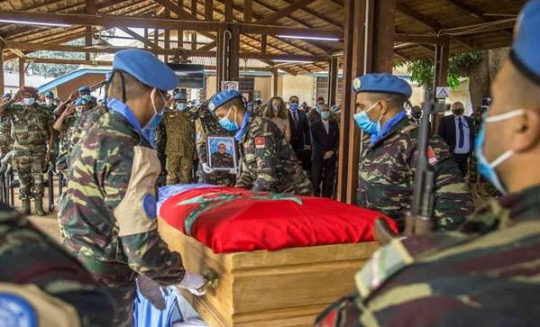 ONU : Comment les ayants droit du Casque bleu marocain décédé seront-ils indemnisés