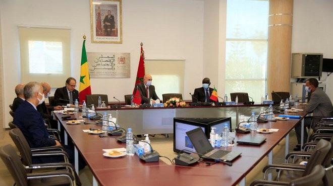 Les CESE du Maroc et du Sénégal déterminés à renforcer le partenariat bilatéral et multilatéral