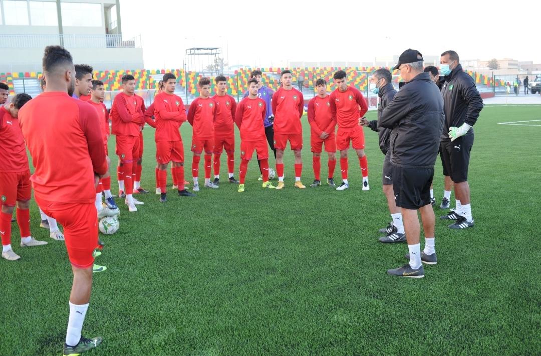 CAN U20/ Maroc-Gambie : Lekjaâ supporter XXL de l'équipe nationale !