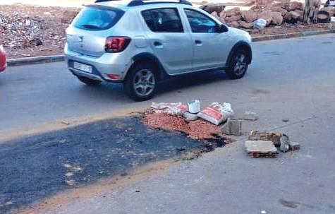 Casablanca : Les nids-de-poule deviennent un véritable fléau sur les routes de la ville