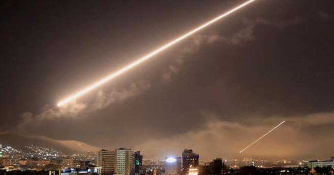 Syrie : Des missiles israéliens interceptés au-dessus de Damas