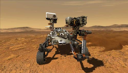 Espace: Atterrissage réussi sur Mars du rover de la NASA «Perseverance »