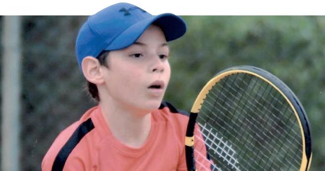 Le jeune Yassine Guida, auteur de l'exploit à Rabat par sa qualification au tableau final.