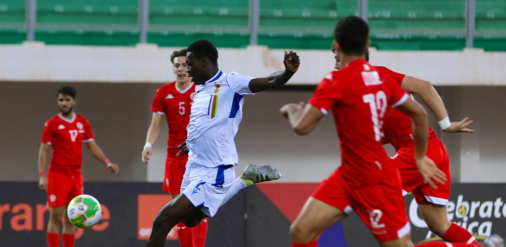 CAN U17 / Tunisie-Centrafrique (1-2) : La Tunisie surprise par la Centrafrique !