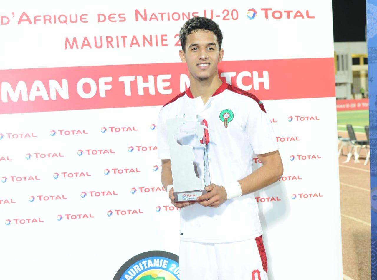 Maroc-Tanzanie : Ayoub Mouloua désigné meilleur joueur du match !