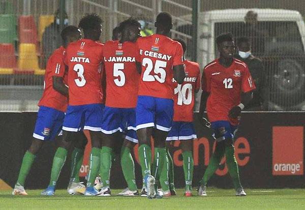 Gambie-Centrafrique (3-0) : Les Gambiens en demi-finale !