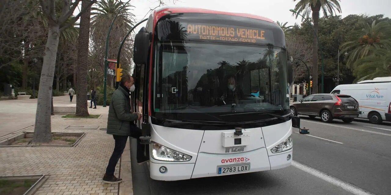 Un autobus sans conducteur circule déjà à Malaga, une première en Europe