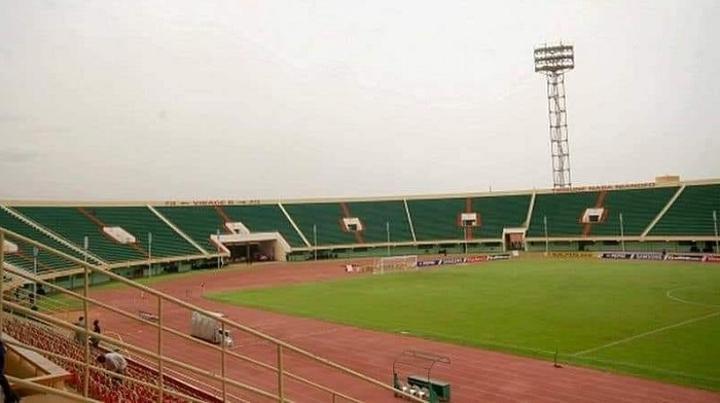 Stade 4 Août à Ouagadougou.