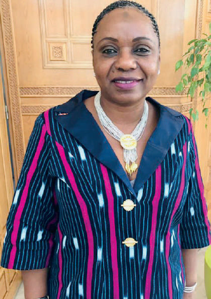Portrait-Mme Cissé Nantènin Kanté : Une femme engagée pour l'amour des autres