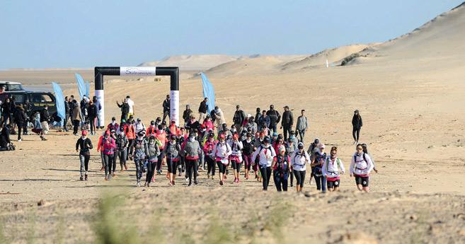 Raid : 7ème édition du challenge sportif et solidaire «Sahraouiya»
