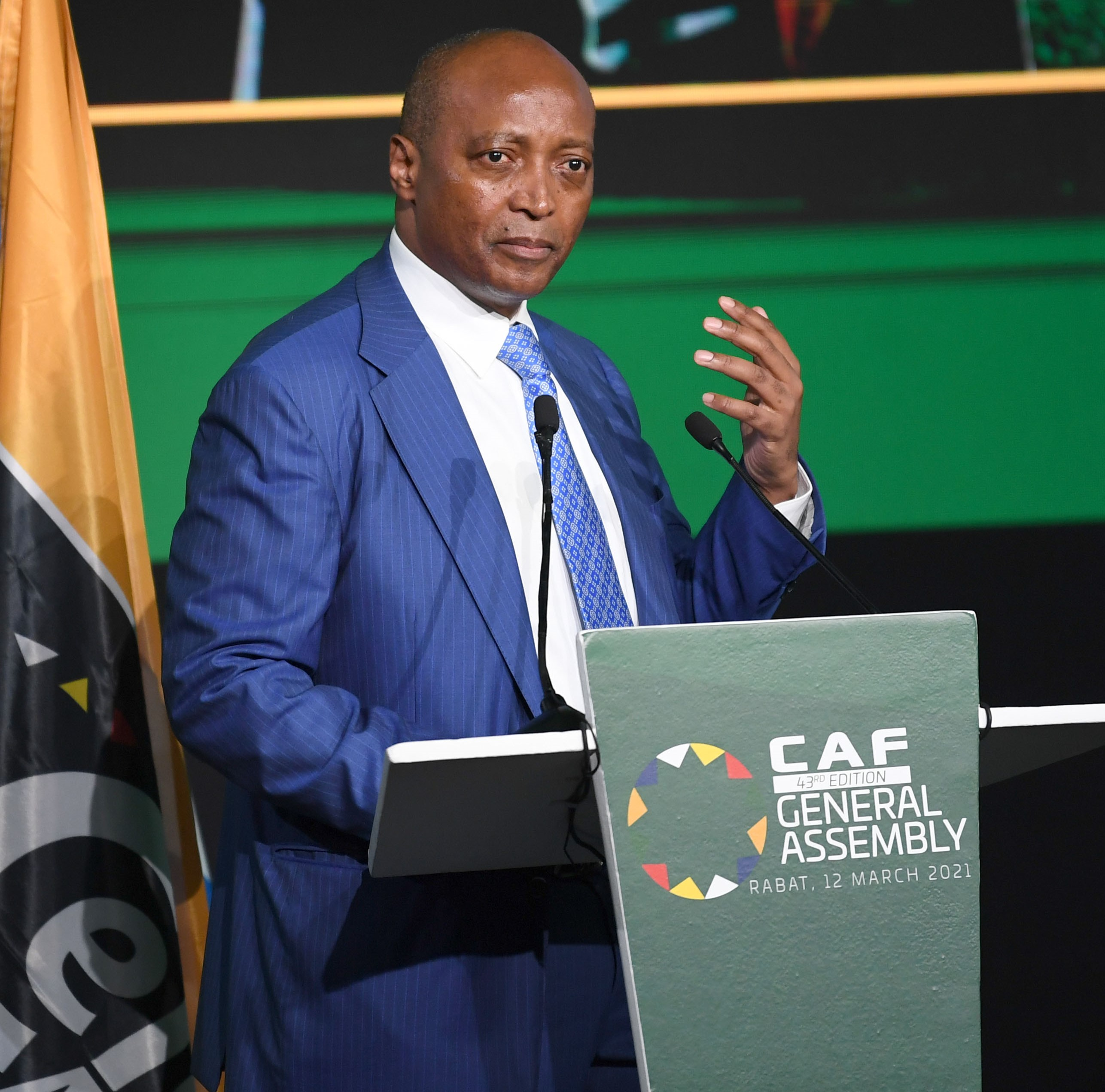 Motsepe élu président de la CAF par acclamation