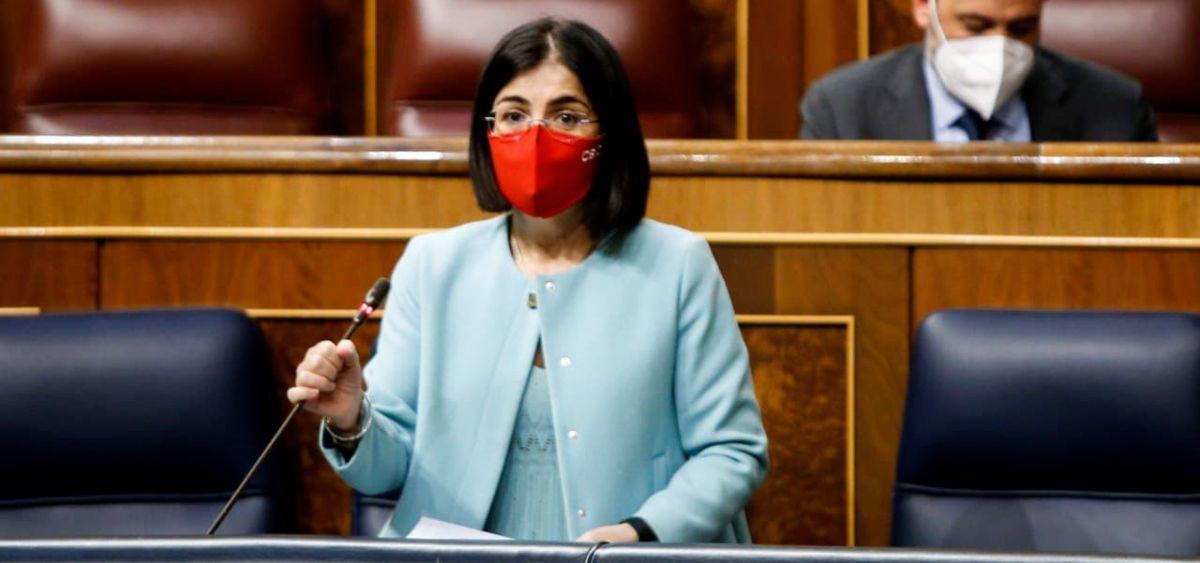 Carolina Darias, ministre de la Santé espagnole