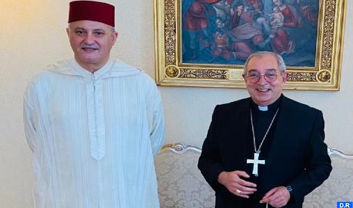 Dialogue interreligieux : le leadership de SM le Roi salué à Rome