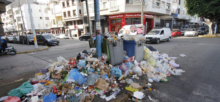 Casablanca risque de bientôt crouler sous les ordures