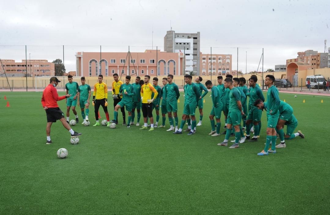 Football : La sélection nationale U20 en stage à Saïdia