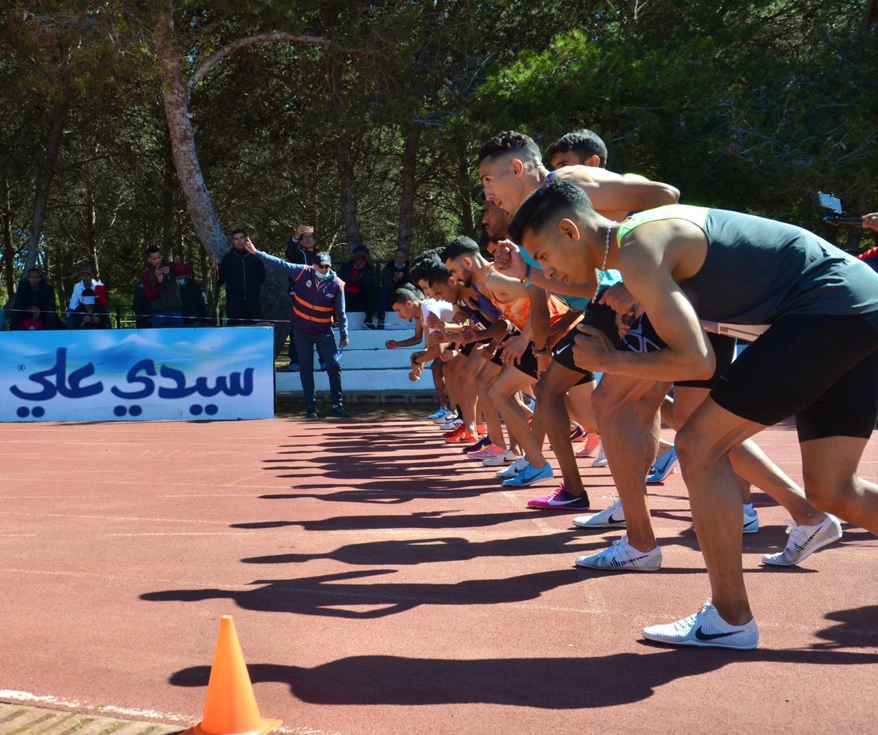 9ème meeting fédéral: Moujahid El Hassan réalise un record personnel sur 1.500 m