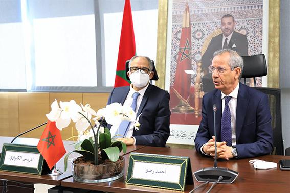 Conseil de la Concurrence: Passation des pouvoirs entre Ahmed Rahhou et Driss Guerraoui