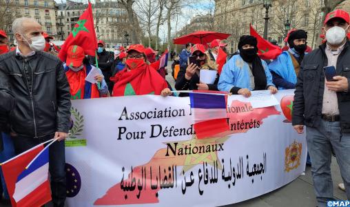 Paris: Sit-In de solidarité avec les séquestrés des camps de Tindouf en Algérie