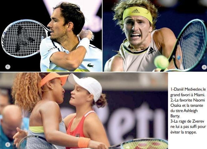 Tennis :  À Miami, le challenge de la nouvelle génération