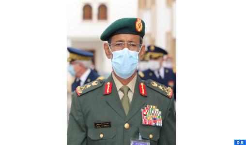 Général de Division, Chef d'Etat-Major des Forces Armées Emiraties, Hamad Mohammed Thani Al Rumaithi