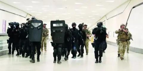 Mondial 2022: Le Maroc participe, au Qatar, à des manœuvres sécuritaires
