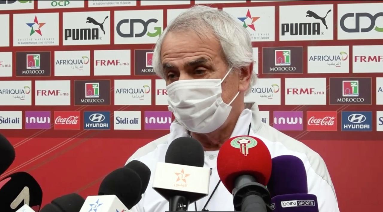 """Vahid Halilhodzic : """"Nous disposons d'une équipe talentueuse, mais qui doit encore s'améliorer"""""""