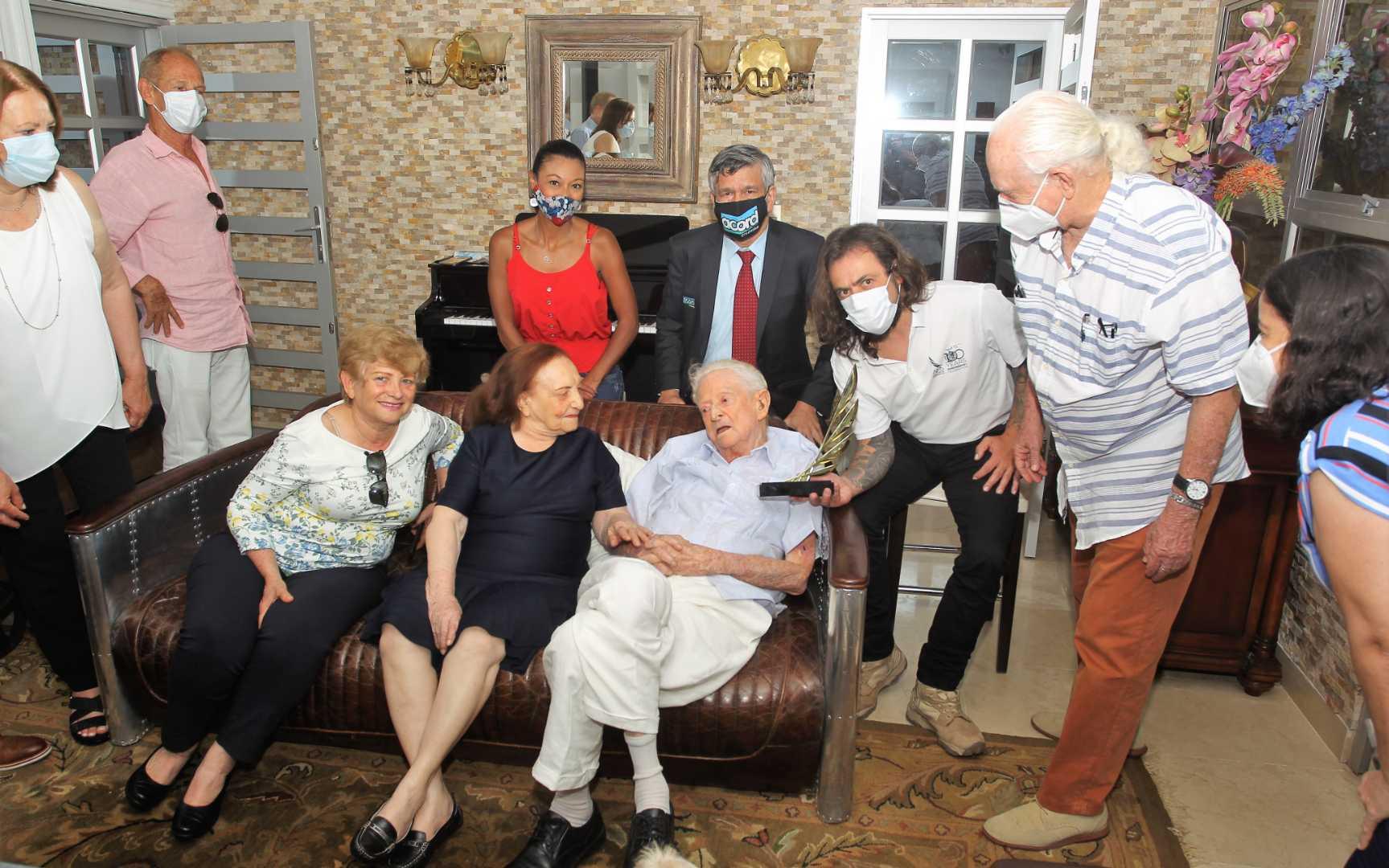 Association Internationale de la Presse Sportive: Le grand prix « AIPS » décerné à un journaliste sportif de 101 ans