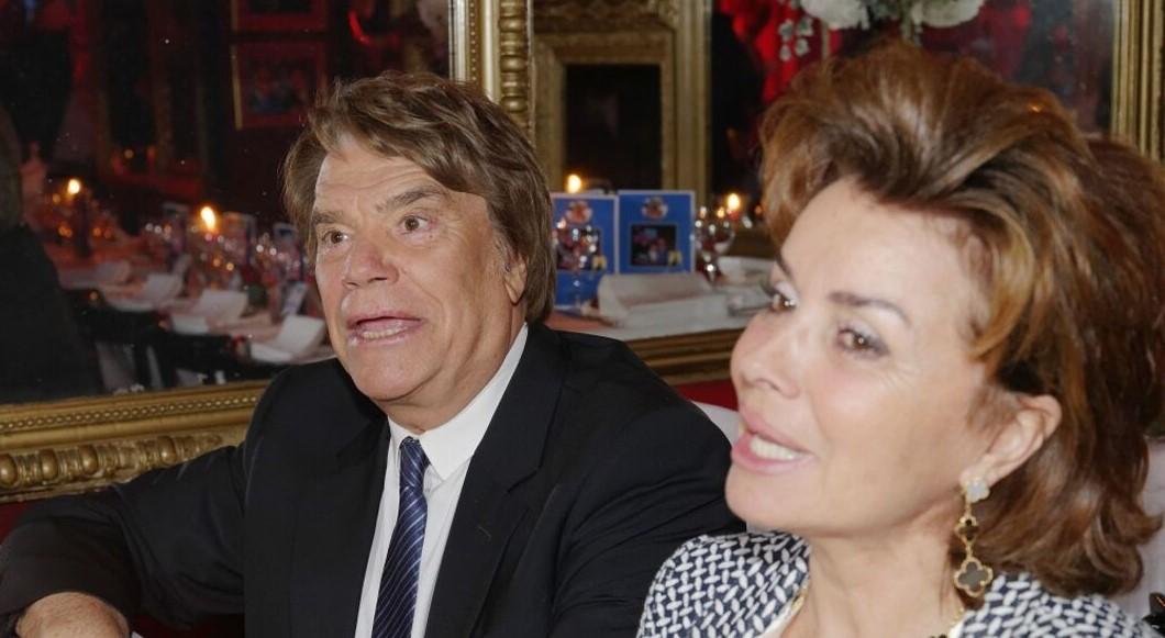 Bernard Tapie et son épouse victimes d'un violent cambriolage.
