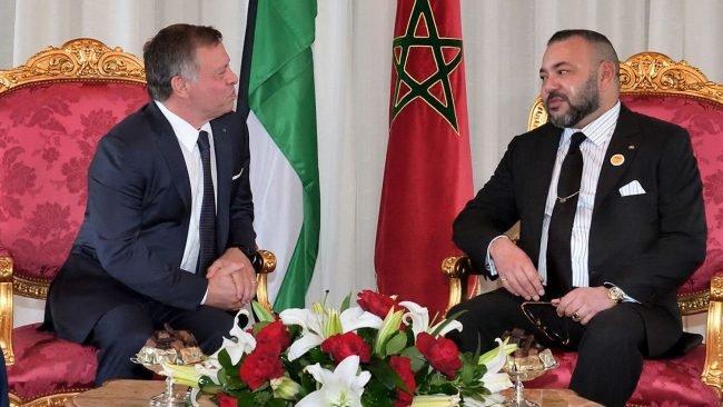 Le Souverain, premier chef d'Etat à exprimer sa solidarité et son soutien au Roi Abdellah II