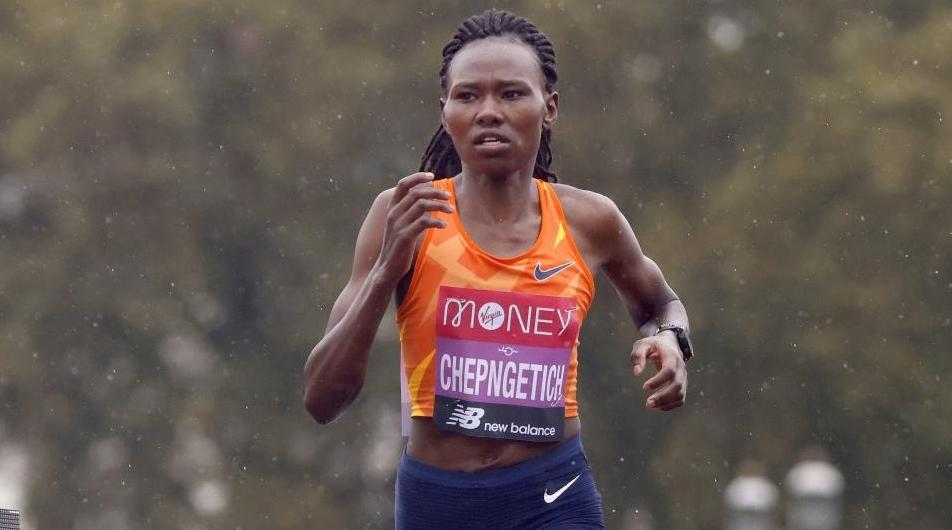 Athlétisme/semi-marathon: La Kényane Ruth Chepngetich bat le record du monde