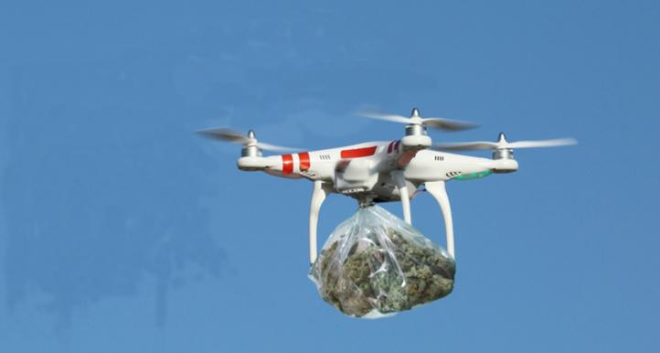 Sebta : La police contrecarre une opération de trafic de drogue par drone