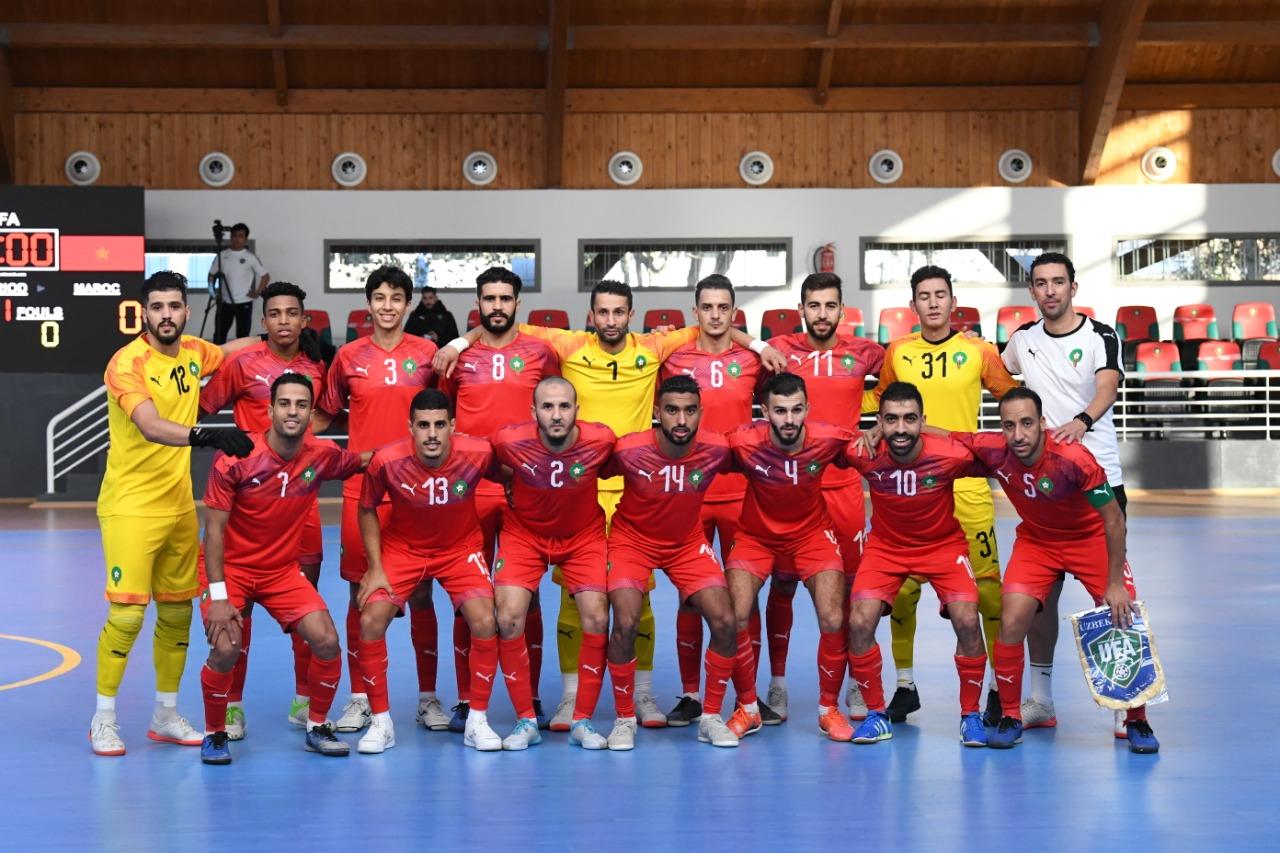 Futsal : La sélection nationale en stage à Salé