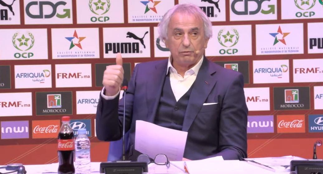 """Concentré de la conférence du Vahid Halilhodzic : """"Je vous ai compris. Soyez patients. Nous y sommes presque !"""""""