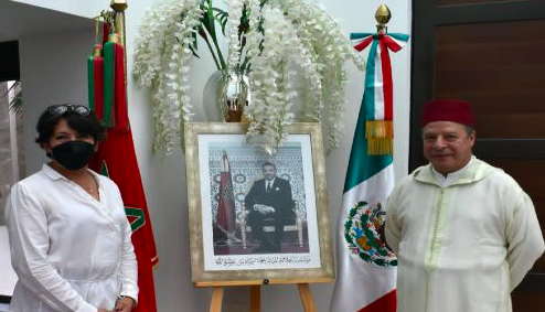 Maroc-Mexique : L'ambassadeur du Maroc se réunit avec la ministre de l'Éducation publique